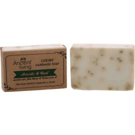 Ancient Living AVOCADO & BASIL Luxury Handmade Soap 100g