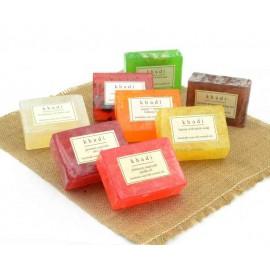 Khadi Assorted Natural Handmade Soaps - Double Nourishment Pack of 8