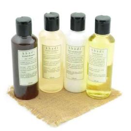 Khadi - Natural Anti Dryness Solution Kit of Hair Oil  Shampoo & Conditioner