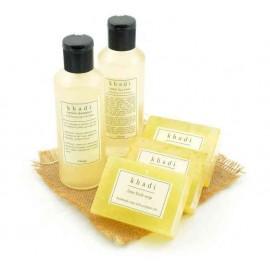 Khadi - Natural Goodness of Limes & Lemons Herbal Skin & Hair Care Kit