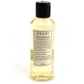 Khadi Almond & Olive Herbal Body Massage Oil 210 ml