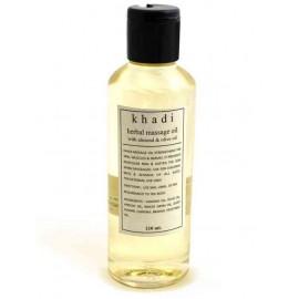 Khadi Almond & Olive Herbal Body Massage Oil 210 ml