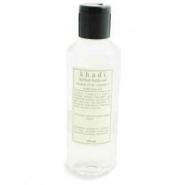 Khadi Almond  Vitamin-E & Rose Bath Oil 210 ml