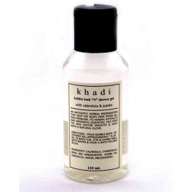 Khadi Calendula & Jojoba Bubble Bath & Shower Gel 110 ml