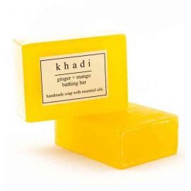 Khadi Ginger Mango Handmade Soap 125 gm
