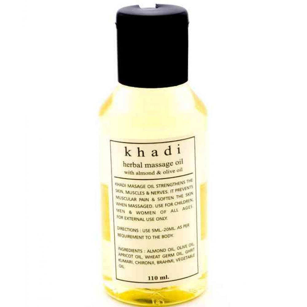 Buy Khadi Almond & Olive Herbal Body Massage Oil 110 ml ... Almond Olie