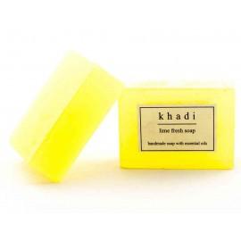 Khadi Lime Fresh Handmade Soap 125 gm