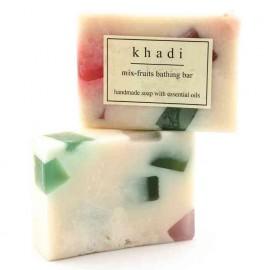 Khadi Mixed Fruit Handmade Soap 125 gm