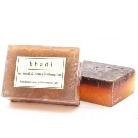 Khadi Oatmeal & Honey Handmade Soap 125 gm