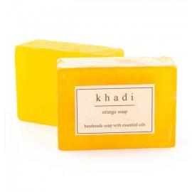 Khadi Orange Handmade Soap 125 gm