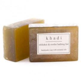 Khadi Shikakai & Reetha Handmade Soap 125 gm