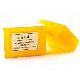 Khadi Turmeric & Sandalwood Handmade Soap 125 gm