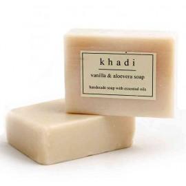 Khadi Vanilla & Aloe Vera Handmade Soap 125 gm