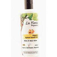 La FLora Organics Organic Apricot Kernel Oil - Skin & Hair Care - 100ml