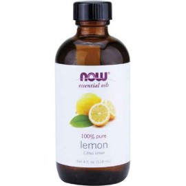 Now Foods Essential Oil, Lemon, 4 Fluid Ounce (118 ml)