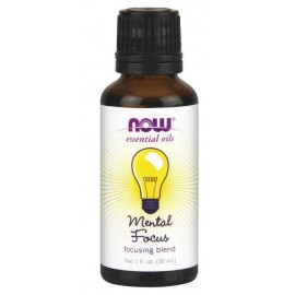 Now Foods Mental Focus Oil Blend, 1 Ounce (30 ml)