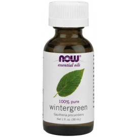 Now Foods Wintergreen Oil, 1 Ounce (30 ml)