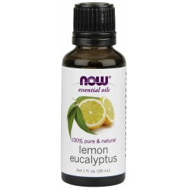NOW Foods 100% Pure & Natural Lemon Eucalyptus Oil, 1 ounce (30 ml)