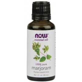 NOW Foods 100% Pure Marjoram Oil, 1 Ounce (30 ml)