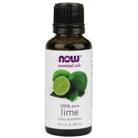 NOW Foods 100% Pure Lime Oil, 2 Ounce (59 ml)