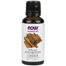 NOW Foods 100% Pure Cinnamon Cassia Oil, 1 Ounce (30 ml)