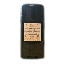 Organic Fields of Heather SEDUCTIVE MOROCCAN NIGHTS Scent Organic & Natural Deodorant, 2.5 fl. Oz
