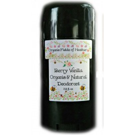 Organic Fields of Heather BERRY VANILLA Scent Organic & Natural Deodorant, 2.5 fl. Oz