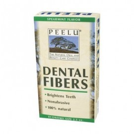 Peelu Dental Fibers Spearmint 2.5 oz Powder