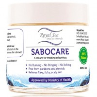Royal Dead Sea Seborrhea Cream Seborrheic Dermatitis Treatment Face Facial, Ears Natural Ointment Lotion Also for Baby Scalp 2oz / 60ml