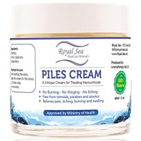 Royal Dead Sea Natural Hemorrhoid Treatment Relief Piles Cream Cure Solution 60 Ml, 2 Oz