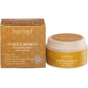 Sattvik Organics Revitalising GOLD Mask 125g