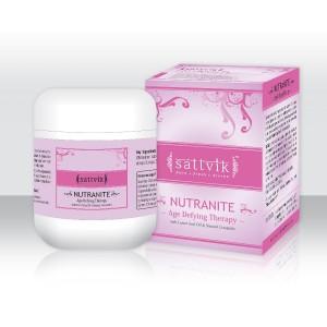 Sattvik Organics NUTRANITE Anti Wrinkle Cream 80g