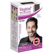 Vegetal Bio Colour for Men - SOFT BLACK - 25g