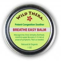 Wild Thera Breathe Easy: Natural Sinus Relief, Allergy Relief, Stuffy Nose and Chest Congestion. Sinus Buster for Colds, Cough, Headache, Sinus Infection Relief, Sinusitis. Sinus Rinse, Vaporizer & Neti Pot