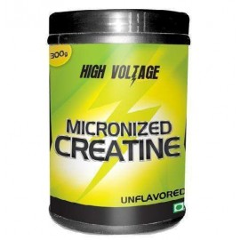 High Voltage MICRONIZED CREATINE Unflavored (300g)
