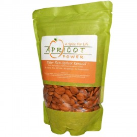 Apricot Power Bitter Raw Apricot Seeds 1lb Bag (454 gm)