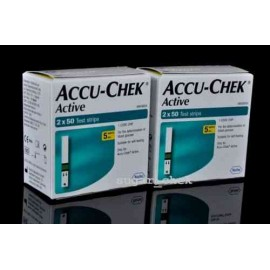 200 Test Strips for Accu-Chek Active Glucometer