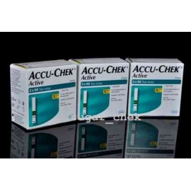 Accu-Chek Active 300 Test Strips with Expiry December 2015