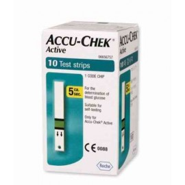 Accu-Chek Active 10 Test Strips with Expiry October 2015
