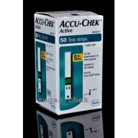 Accu-Chek Active 50 Test Strips with Expiry January 2016