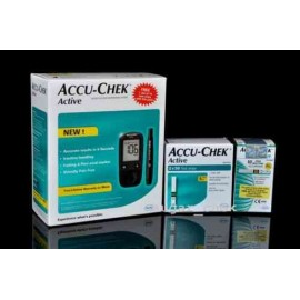 ACCU-CHEK Active Blood Glucose Monitoring System & 110 Strips