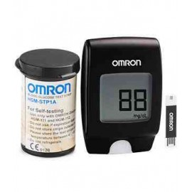 25 OMRON Blood Glucose Test Strips HGM-STP1A