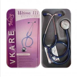 Adult Stainless Steel Stethoscope - Ultima 111 - Blue