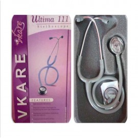 Adult Stainless Steel Stethoscope - Ultima 111 - Grey