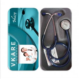 Deluxe Stethoscope - Classic - Blue