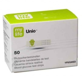 Mylife Unio Blood Glucose Monitor Test Strips 50