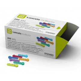 MyLife Multi-Colored Lancets Pack of 200