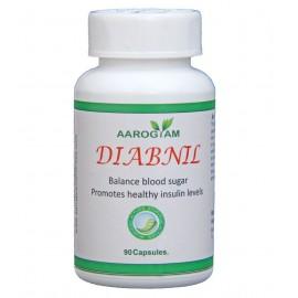 Aarogyam DIABNIL 500mg Capsules (90) for Diabetes