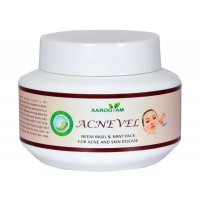 Acnevel Neem, Basil & Mint Pack 100 gm for combating Acne and Pimples