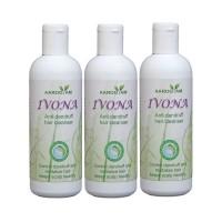 Ivona Anti DANDRUFF Hair Cleanser pack of 3